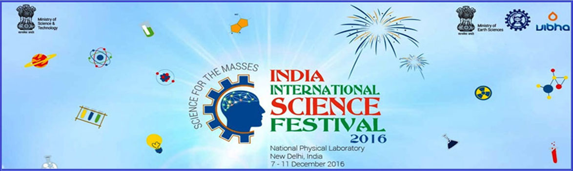 INDIAN INTERNATIONAL SCIENCE FESTIVAL 2016